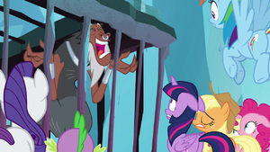Lord Tirek cackling with delight S8E26