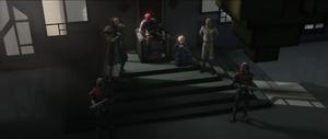 Maul throne room meet