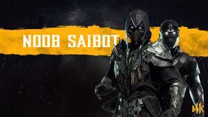 Noob Saibot's Promotional Render