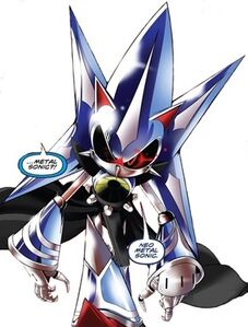 Sonic idw neo metal sonic 02 2