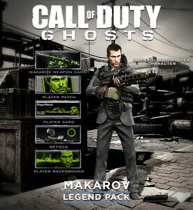 Vladimir Makarov CoD Ghosts DLC