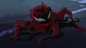 Carnage-Symbiote form