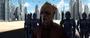 Chancellor Palpatine congradulates