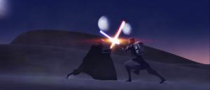 Count Dooku desert duel