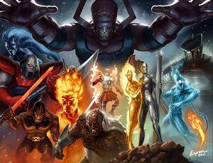 Galactus and heralds