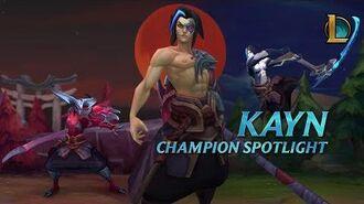 Kayn Champion Spotlight Gameplay - League of Legends