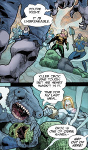King Shark win.