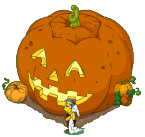 Milhouse grand pumpkin