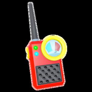 Team chaotix s walkie talky render by nibroc rock db1yx1l-fullview