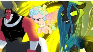 Tirek chrsailys cozy glow will destroy the mane six
