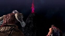Akuma appears (Asura's Wrath)