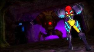 Metroid Samus Returns - Diggernaut Boss Fight
