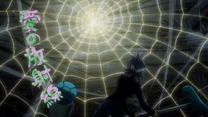 Shizuku witnessing Pike's Love Shower