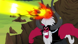 Tirek shooting magic beam S4E26