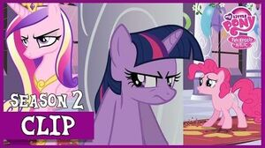 "MLP FiM – 'Cadance's' Demanding Attitude ""A Canterlot Wedding"" HD"