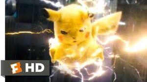 Pokémon Detective Pikachu (2019) - Poké Floats Smash Scene (7 10) Movieclips