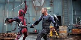Ajax fighting with deadpool