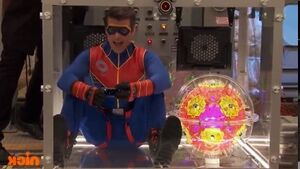 Captain Man and The Plasmatronic Boom Sphere