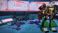 Cyclonus' Team's Defeat