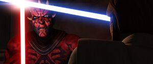 Darth Maul taunting