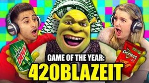 GAME OF THE YEAR 420BLAZEIT (Teens React Gaming)