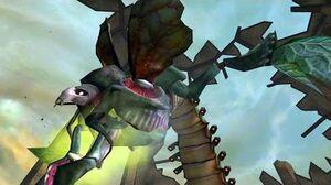 Metroid Prime Flaahgra Boss Fight 5 (4K 60fps)