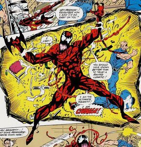 Spider-Man Unlimited Vol 1 1 page 04 Cletus Kasady (Earth-616)