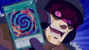 Arc V Sergey with a fusion card
