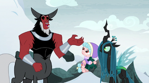 Lord Tirek 'after that, we can go back' S9E8