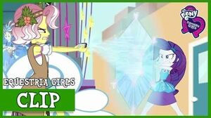 Rarity vs Vignette Valencia MLP Equestria Girls Rollercoaster of Friendship Full HD