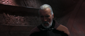 Count Dooku winded