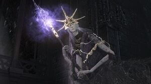 Dark Souls 3 Aldrich, Devourer of Gods Boss Fight (4K 60fps)