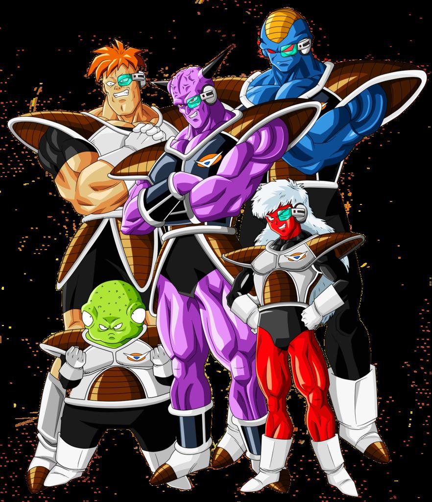 Ginyu Forces Villains Wiki Fandom Powered By Wikia