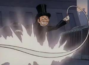 Hamegg using the whip