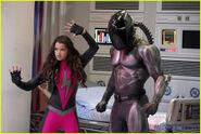 Skylar and the Annihilator vs the superheroes