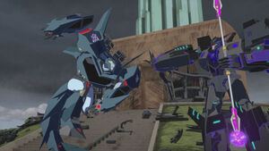Steeljaw vs. Megatronus