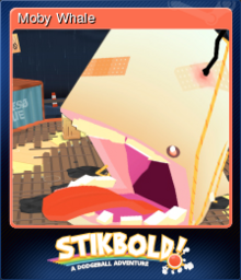 Stikbold! A Dodgeball Adventure Card 5