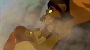 """THE LION KING (1994) Scene """"Long live the King"""" Mufasa's Death."""