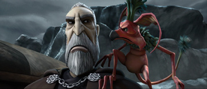 Count Dooku monkey lizard