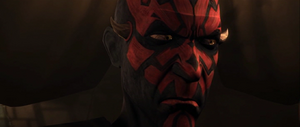 Darth Maul annoyed