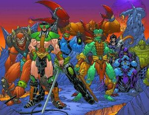 Evil Warriors