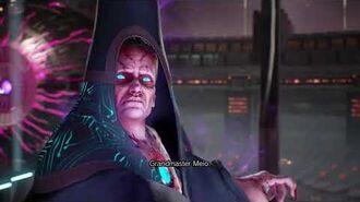 Marvel Vs. Capcom Infinite - Grandmaster Meio and Ultron Drones Boss Fight with Custom Music