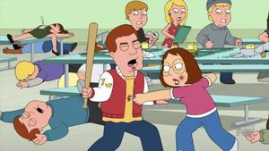 Meg Stabs a Jock