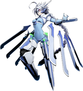 Nu-13 (BlazBlue Cross Tag Battle, Character Select Artwork)