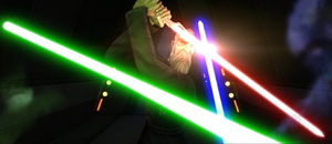 Count Dooku disorganized