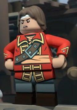 Lego Captain Fear