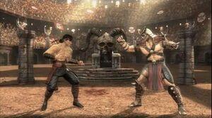Mortal Kombat (2011) - Liu Kang vs