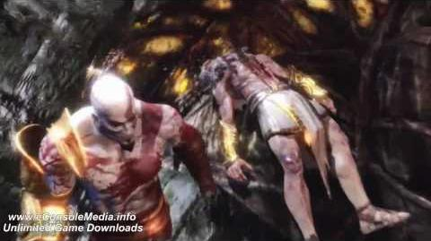 God of War 3 - Kratos vs Zeus Final Battle pt 3 3 HD