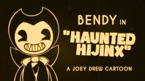 """Bendy in """"Haunted Hijinx"""" - A Joey Drew Short"""