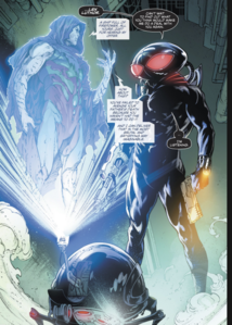 Black Manta and Lex Luthor